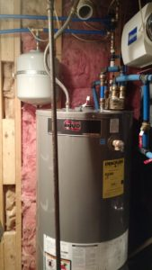 Water Heater, Expansion Tank, and Radiator