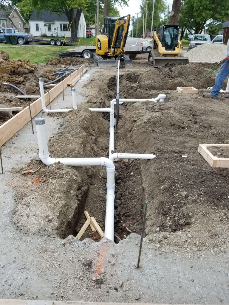 Completed projects perry 39 s plumbing llc for New construction plumbing rough in
